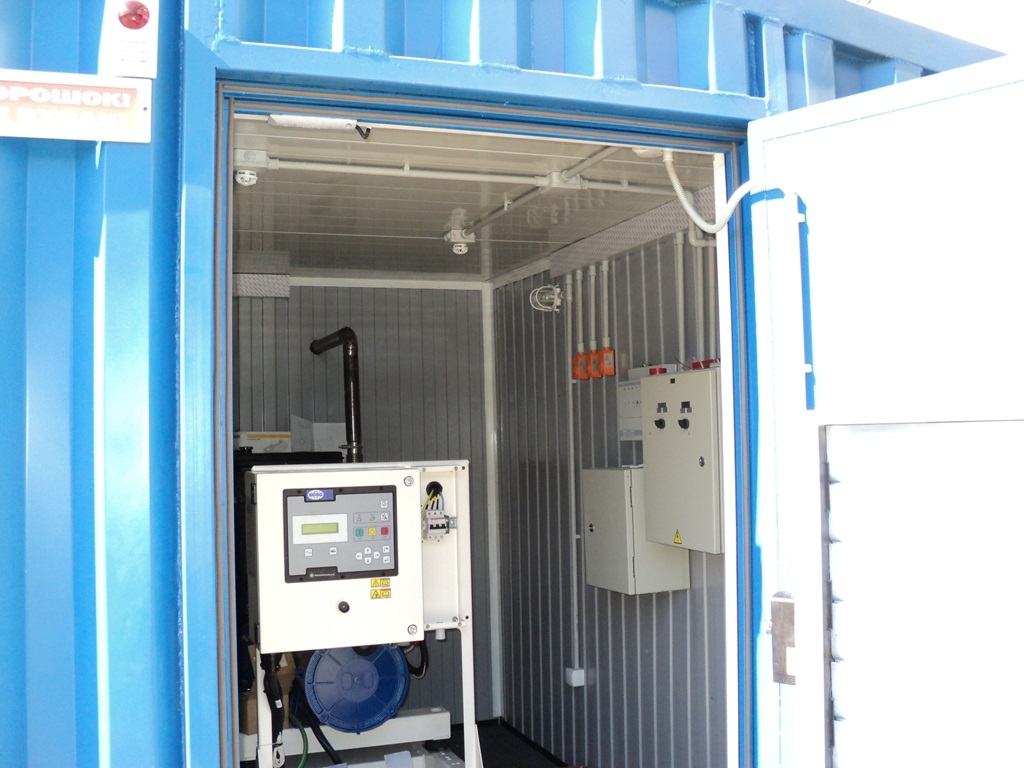 Дизель-генератор FG Wilson в контейнере